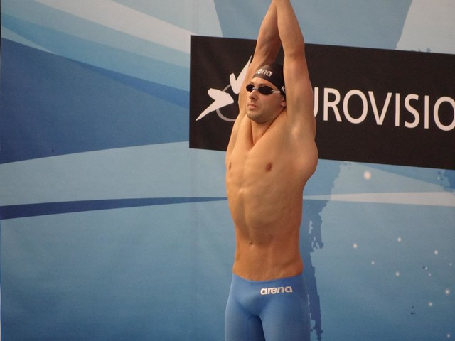 Gard Kvale stretching out at Debrecen 2012
