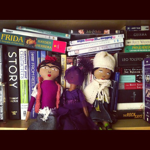 Frida & the handmade doll Gang