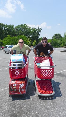 Target cart racing!