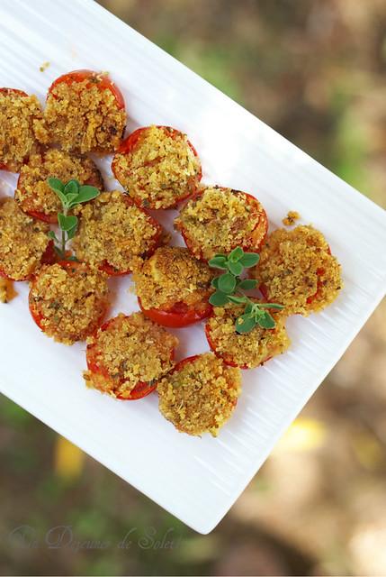 Tomates gratinées - Pomodori arreganati