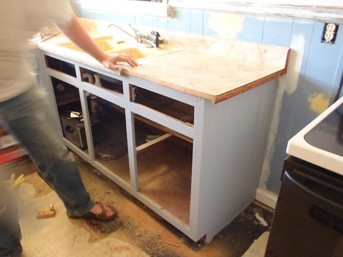 How To Build And Install Dishwasher End Panel The