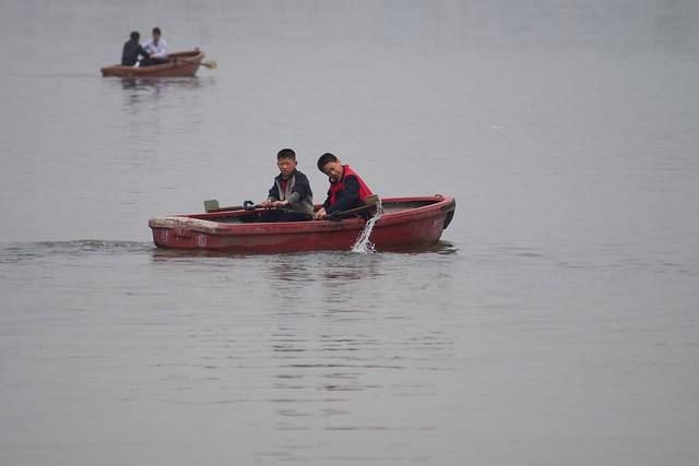 Taedong River Pyongyang, North Korea