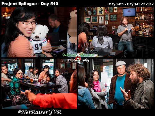 Day 510 - #NetRaiserYVR