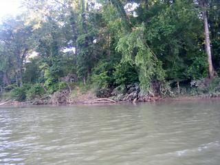 Broad River Paddling May 26, 2012 6-46 PM