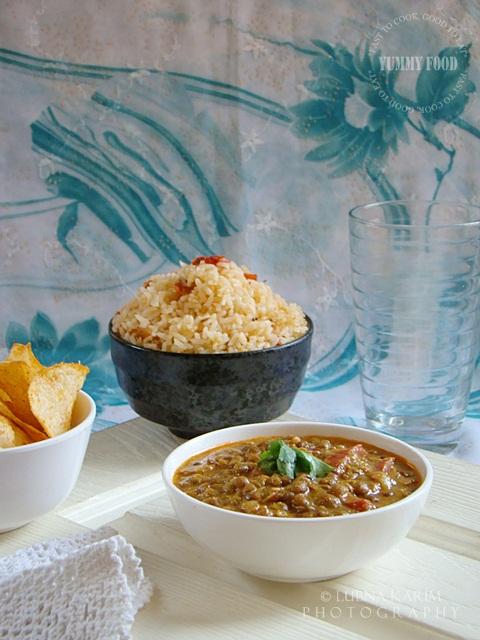 Masoor Makhani with Tomato Rice
