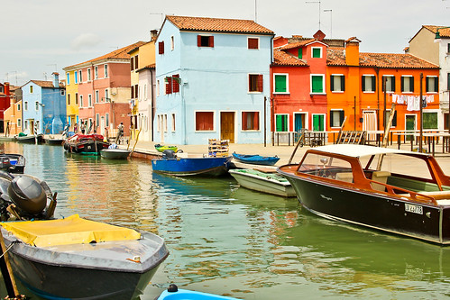 Colored Houses of Burano