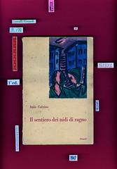 Italo Calvino, Il sentiero dei nidi di ragno, Einaud 1947. i coralli, 11. Copertina