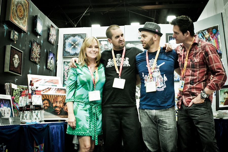 Comicon 2012 Booth #4632 Crew