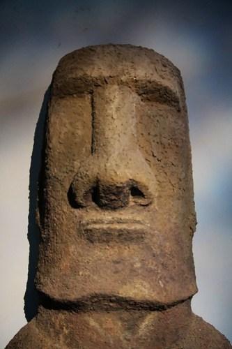 Moai cast at the Kon-Tiki Museum