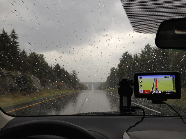 Driving Home in the rain