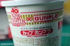 Char Zaku Nissin Cup Gunpla 2011 OOTB Unboxing Review (16)