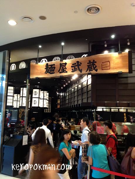 Menya Musashi @ Raffles City