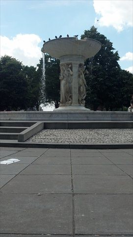 Fountain in DC