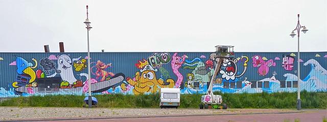 Mural bij De Vloek (update)