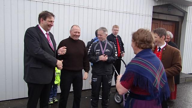 Faroe swim boss gracefully accepts defeat to Triathlon equal