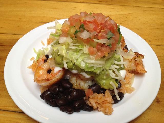 Super prawn taco - La Corneta Taqueria