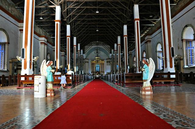 Into Paoay Church