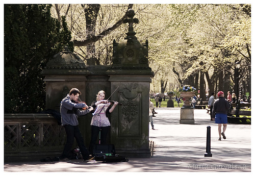New York - Musicians in Central Park