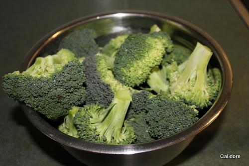 Fresh Picked Broccoli