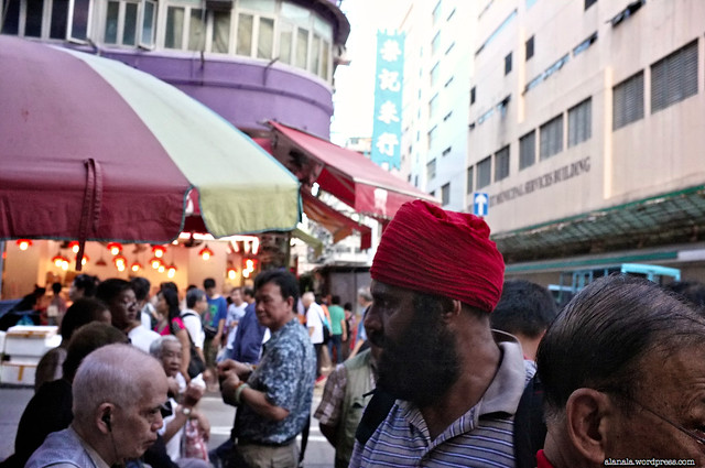 Market in Sham Shui Po