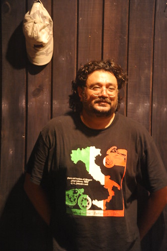 Gaurav Jani, Prime mover, Dirt Track Productions in his usual self