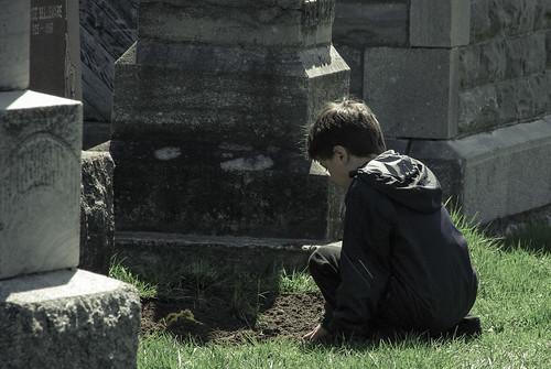 Colin saying a final goodbye