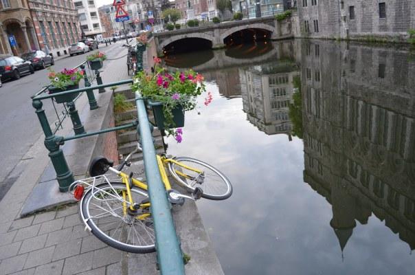 A fallen bike