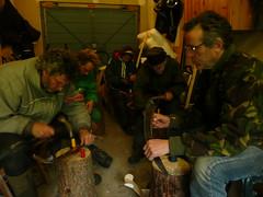 Peening scythes