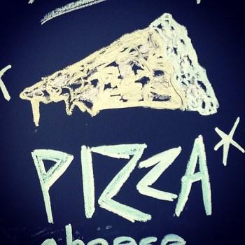 Spritzenhaus German Pizza #chalkboard #sign #greenpoint #Brooklyn #pizza #food