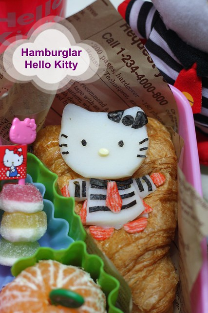 Hello Kitty Hamburglar Bento