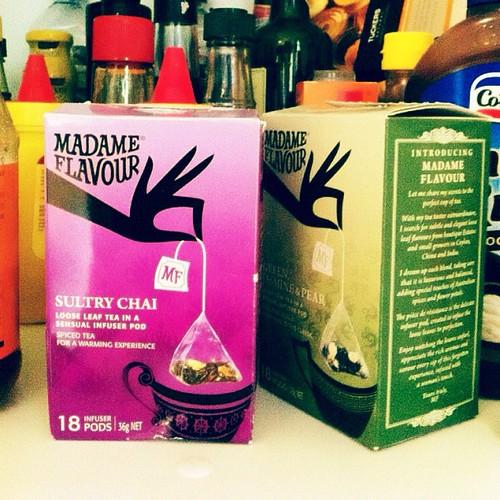 #photoadayjune on the shelf. My favourite tea.