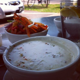 Chowder Hunt Day 1 @ Water-Prince Café, Charlottetown PEI