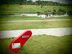 Flood warning, Naturalised River, Bishan Park 2