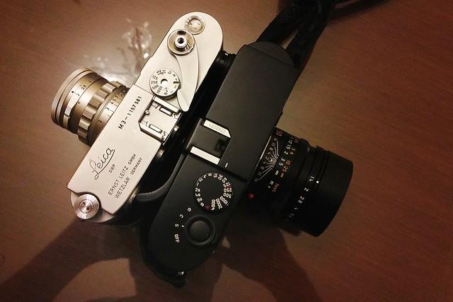 Leica M3 (Rigid 50 Crons) & Leica M9 (Lux 50 ASPH)