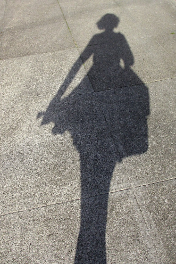 Catching my shadow