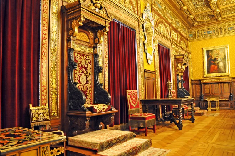 Romania-1603 - Throne Room