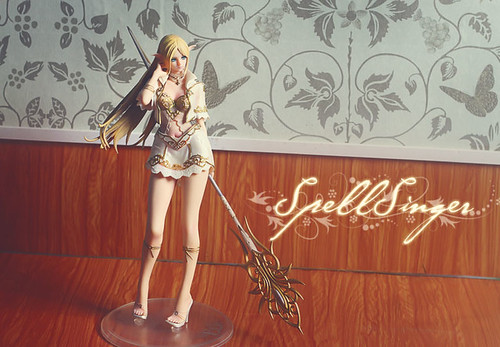 Action figure: Light Elf [Lineage II], spell singer