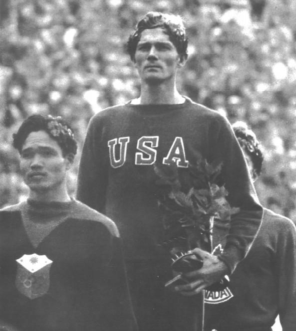 Miguel White Amazing 1936 Olympic 400m Hurdle Bronze 17