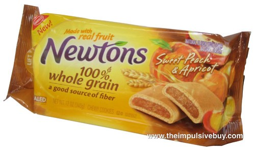 Nabisco Sweet Peach & Apricot Newtons