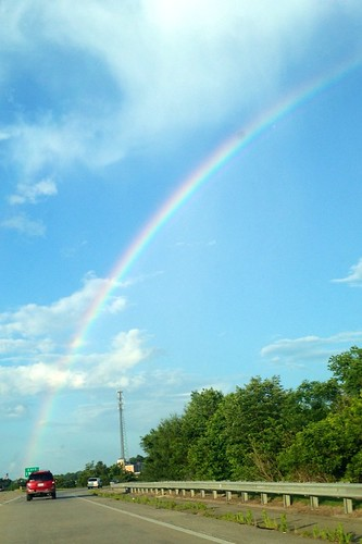 Memorial Day Rainbow by waterfallshiker
