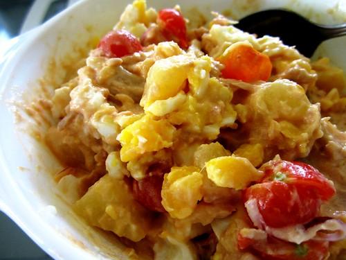 STP's potato tuna & egg salad
