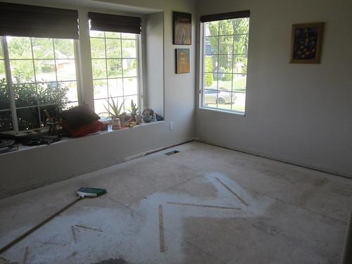 remodelacion piso living 2