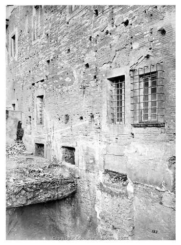 ROMA ARCHEOLOGIA: Foro e Tempio della Pace (Forma Urbis), Scavi di SS. Cosimo e Damiano. in: E. Luigi Tocco, Bull. di Corr. Arch. (10/1867), pp. 177-78. by Martin G. Conde