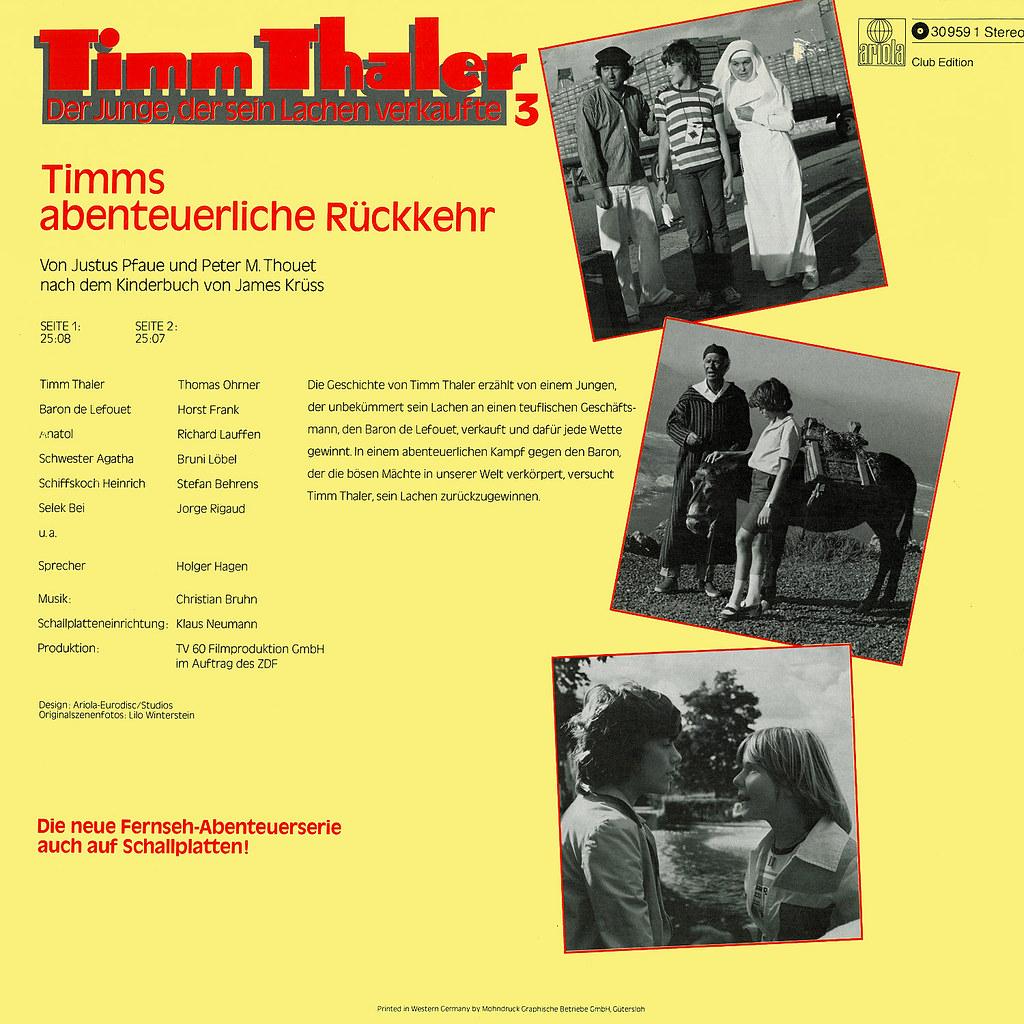 Timm Thaler: Timms abenteuerliche Rückkehr