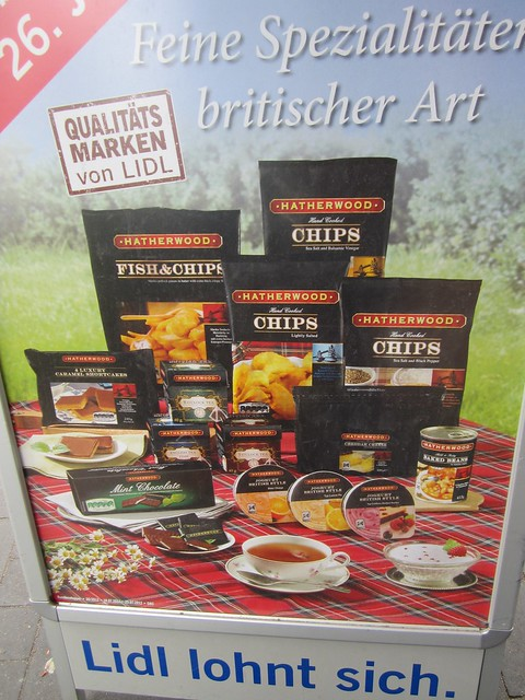 Germany British food