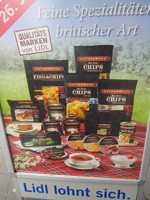 Germany British food
