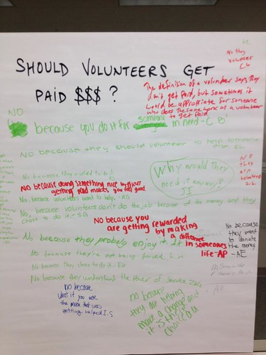 volunteering poster