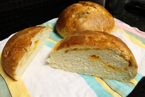 cheese and onion sourdough.