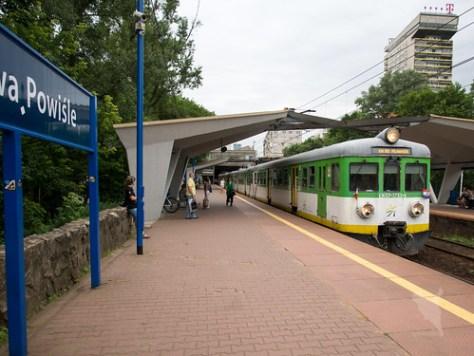 Watszawa Powisle駅