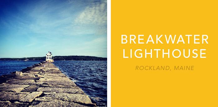 Rockland Breakwater Lighthouse 1